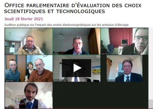 Géobiologues au Sénat à Paris 2